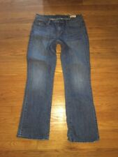 GAP Womens Jeans Stretch Denim Bootcut Size 10 10R Pants M Medium Md Med Work