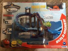 CHUGGINGTON ESCAPE FROM THE ICE CAVE STACK TRACK WITH KOKO TRAIN & TRUCK Playset