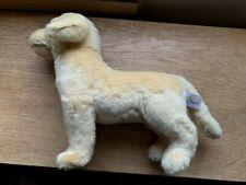 "NEW Plush Dog GOLDEN LABRADOR - 12"" long Collectible Stuffed Toy- Cute Pet"