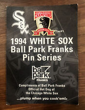 CHICAGO WHITE SOX MLB 1993 WESTERN DIVISION CHAMP PIN