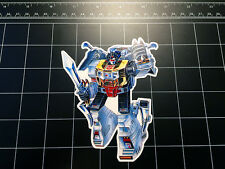 Transformers G1 Grimlock dinobot box art vinyl decal sticker Autobot toy 1980's