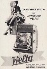 Z3709 Macchina fotografica WELTA - Pubblicità d'epoca - 1940 vintage advertising