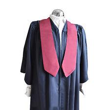 Graduation D'honneur Stole Université Bachelor Master Academic Vin Rouge Chœur