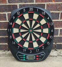 Electronic Dart Board Halex 64310 Cream Green Red Black.