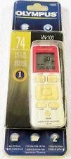 Olympus VN-100 Handheld (128 MB, 74 Hours) Digital Voice Recorder New & Sealed