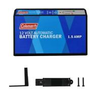 Coleman 12V 1.5 Amp Automatic Battery Trickle Charger Maintainer 60131