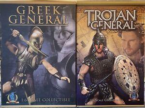 Pangaea PG01 PG03 Troy: Greek + Trojan General Achilles + Hector Brad Pitt