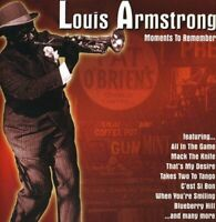 Louis Armstrong - Moments To Remember [CD]