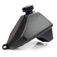 Plastic Petrol Gas Fuel Tank w/ Cap Fit for 50cc to 125cc Quad Dirt Bike ATVs
