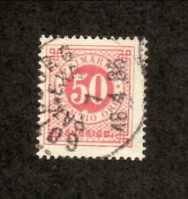 Sweden-#36 Used-1878 Numeral Stamp