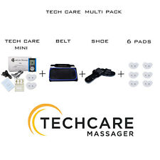 Mini Tens Electric Massager Unit + 6 Pads + Belt + Shoes for Back Pain Therapy