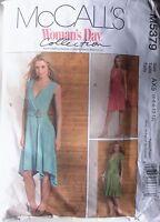 McCALLS Sewing Pattern No. M5379 LADIES Wrap dress  size AX5 (4, 6,8,10,12)