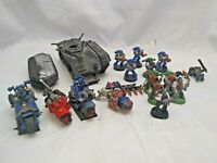 Warhammer 40k space marines job lot bundle army