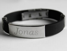 Engraved Name Bracelet - JONAS - Gifts for him Father, Grandfather, Brother