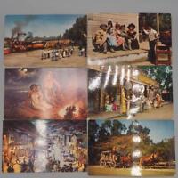 Vintage Knotts Berry Farm California Unused Postcard Lot of 6
