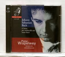 PETER WISPELWEY - JS BACH 6 suites for cello solo CHANNEL CLASSICS 2xCDs NM