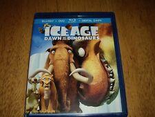 EEUC Ice Age Dawn of the Dinosaurs 3 Disc Set Blu-ray + DVD + Digital HD  Movie