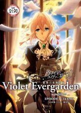DVD Violet Evergarden Complete Series 1-14 End Japanese Anime English Subtitle
