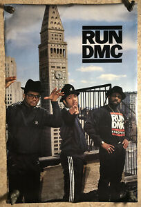 RARE Run DMC Original Vintage Poster Free shipping