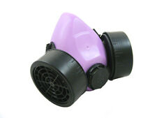 Púrpura Cyber respirador cyberlox Rave Gótico Steampunk Cosplay Industrial