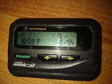 Vintage 1990's working Motorola Minicall Pageone Pager