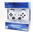 WHITE SONY OEM PS3 PLAYSTATION 3 WIRELESS SIXAXIS DUALSHOCK  CONTROLLER UK STOCK