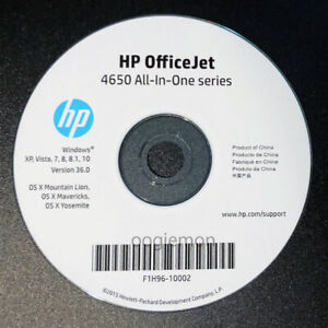 Setup CD ROM for HP OFFICEJET 4650 All-In-One Series Software for Windows / Mac
