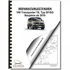 VW Transporter T6 (15>) Schaltplan, Stromlaufplan, Verkabelung, Elektrik, Pläne