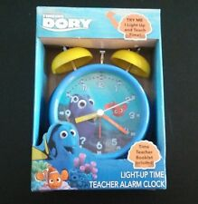 Disney*Pixar Finding Dory Light-Up Time Teacher Alarm Clock-NIP