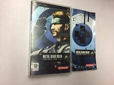 METAL GEAR SOLID PORTABLE OPS PLUS  PSP   USATO