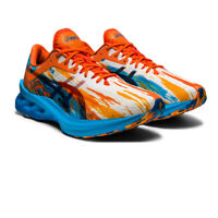 Asics Mens Novablast Noosa Running Shoes Trainers Sneakers Blue Orange Sports