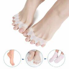 1 Pair Silicone Toe Separator Spreader Correction Pain Relief Hallux Valgus