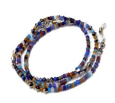 Reading Eye glasses, spectacles, lanyard chain holder rainbow beads