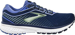 Brooks Ghost 12 WIDE FIT Womens Running Shoes - Blue