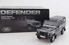 1:18 Land Rover Defender D110 One Ten Dorlop Diecast Model Grey (RHD) NEW