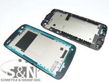 Original HTC Desire 500 Front Gehäuse Cover f. Display Kleber Rand, schwarz