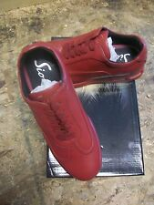 Men's Sio Burgundy Smooth Low Top Air Bubble Casual Shoe w/Padded Collar Size 13