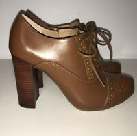CROWN VINTAGE Tessford Platform Oxford Pumps Women's Size 6.5M