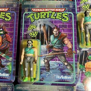 Super7 TMNT Teenage Mutant Ninja Turtles Reaction Figure  Casey Jones