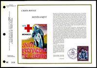 MONACO CEF 1975 ROTES KREUZ RED CROSS CROIX-ROUGE LTD. ONLY 5.500 !! zc87