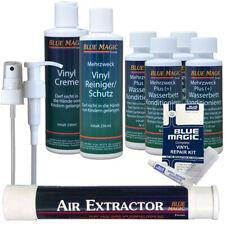 Blue Magic Wasserbett Pflege Conditioner Vinylreiniger Flickzeug Air Extractor