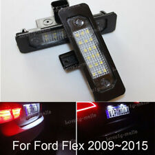 For Ford Flex Focus Fusion Mustang 6000K White LED License Plate Lights Lamps 2x