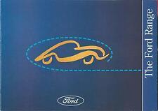 Ford Cars 1994 UK Market Brochure Probe Fiesta Escort Mondeo Granada Scorpio