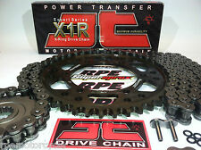 KAWASAKI EX500 NINJA '87/09 JT BLACK CHAIN AND SPROCKET KIT {OEM or CUSTOM}