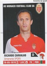 N°221 RICARDO CARVALHO # PORTUGAL AS.MONACO STICKER FOOT 2014 PANINI