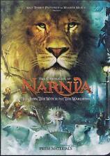 CHRONICLES OF NARNIA: LION, WITCH & WARDROBE - 2005 - Original Digital Press Kit