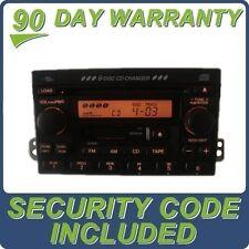 03 04 05 06 HONDA CR-V CRV Radio Stereo 6 Disc Changer CD Player AM FM Factory