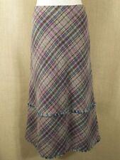 Per Una Calf Length Check Regular Size Skirts for Women