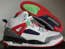 NIKE AIR JORDAN SPIZIKE WHITE-POISON GREEN-RED-GREEN SZ 12 [315371-132]