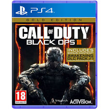 Sony PlayStation P4refpact21672 Call of Duty Black Ops 3 Gold for Ps4